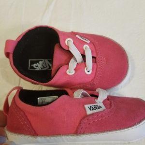 Vans Pre Walker Suede/Canvas Infant Shoes